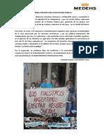 Apoyo a La Marcha Federal Docente Por La Educación Pública
