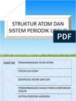 Bab 2 - Struktur Atom Dan Sistem Periodik Unsur
