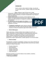 Consulta Elementos de Programación