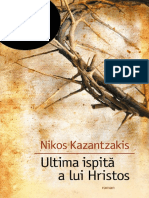 Nikos Kazantzakis - Ultima Ispită a Lui Hristos