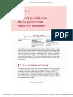 Aide-mémoire Sirey - Droit Pénal, Procédure Pénale