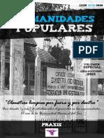 """Humanidades Populares, volumen especial. 2015. """"Claustros limpios por fuera y por dentro"""". Una década (y más) de estudios sobre el genocidio en las universidades. El caso de la Universidad Nacional del Sur"""