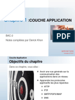 TCP/IP COUCHE APPLICATION PARTIE 1