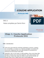 TCP/IP COUCHE APPLICATION - PROTOCOLE DNS