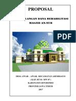 Proposal Masjid an-nur