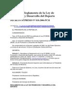 DS 018-2004-PCM