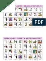 BINGO LAS PROFESIONES Y OFICIOS WORD.doc