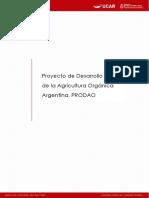 Proyecto de Desarrollo de La Agricultura Orgánica Argentina (PRODAO)