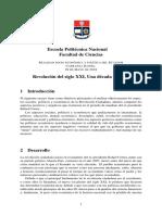 Analisis de la Revolucion Ciudadana