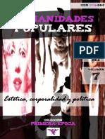 """Humanidades Populares, volumen 7, número 9. 2016. Estética, corporalidad y política [Colección """"Primera época""""]"""