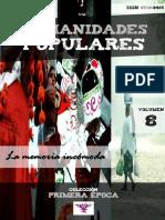 """Humanidades Populares, volumen 8, número 11. 2016. La memoria incómoda [Colección """"Primera época""""]"""