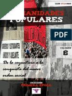 """Humanidades Populares, volumen 8, número 12. 2016. De la coyuntura a la conquista del nuevo orden social [colección """"Primera época""""]"""