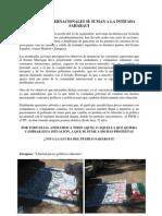 ACTIVISTAS INTERNACIONALES SE SUMAN A LA INTIFADA SAHARAUI