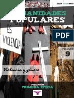 """Humanidades Populares, volumen 9, número 13. 2016. Violencia y género [colección """"Primera época""""]"""