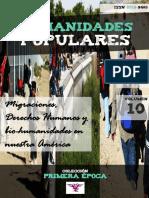 """Humanidades Populares, volumen 10, número 17. 2016. Migraciones, Derechos Humanos y bio-humanidades en nuestra América [colección """"Primera época""""]"""