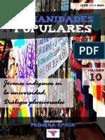 """Humanidades Populares, volumen 10, número 18. 2016. Jóvenes indígenas en la universidad. Diálogos pluriversales [colección """"Primera época""""]"""