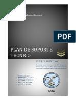 Ejemplo - Plan de Soporte Técnico