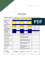 Decont Extern Decont de Cheltuieli Externe Model