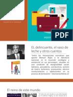 Presentación de Novelas Del Mes (1)