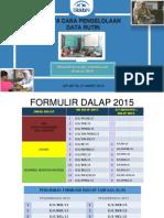 Tata Cara Pengelolaan Data Rutin-pengendalian Lapangan 2015