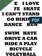 i Like i Love i Hate Skate