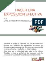 CÓMO HACER UNA EXPOSICIÓN EFECTIVA.pptx