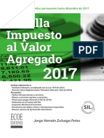 Cartilla Impuesto Al Valor Agregado 2017