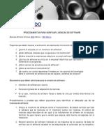 Procedimientos Para Verificar Licencias de Software en Las Empresas - BDO 2011