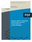 National Science, Technology and Innovation Systems in Latin America and the Caribbean