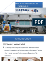 Perfomance Analysis of Carrefour