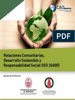 Relaciones Comunitarias Desarrollo Sostenible y Res