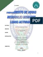 Tratamiento de Aguas Residuales Mediante Lodos Activados