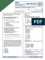 Examen Mensual de Economia - Ciclado Uniciencia