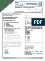 Examen Mensual de Economia - Pre Uniciencia