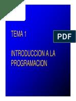 Tema1 Introducción a La Programación
