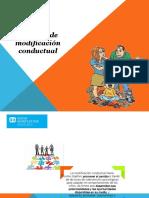 Modificacion conductual