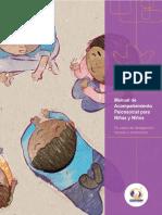 Manual de acompañamiento psicosocial para niñas y niños