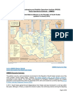 (180116) Peacekeeping and Stability Operations Institute UNMISS Estimate