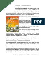 La Agroindustria Un Compromiso de Todos