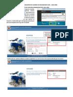 SIGA WEB - Manual Para Registro de Cuadro de Necesidades 2019