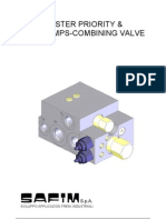 Master Priority Two Comb Valve