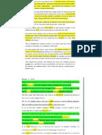 10 Passages Summary