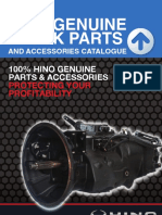 Hino Truck Bus Parts Catalogue