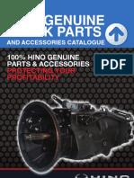 Hino Truck Bus Parts Catalogue