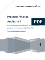 Proyecto Final Auditoria II