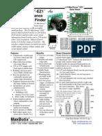 LV MaxSonar EZ1 Datasheet