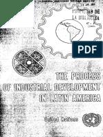 Cepal - Proceso de Industrialización AL