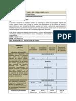 Tabla Especificación Ev Expresion y Manipulacion Material Genetico