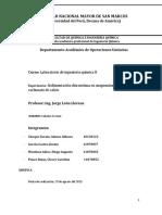 Informe 2 - Sedimentacion