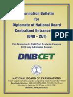 DNB CET Bulletin